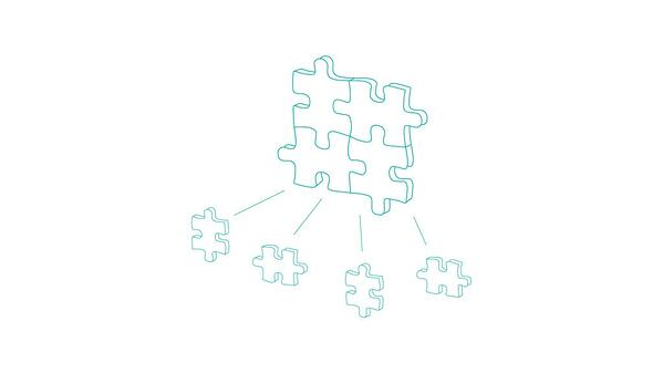 illustration of puzzle pieces